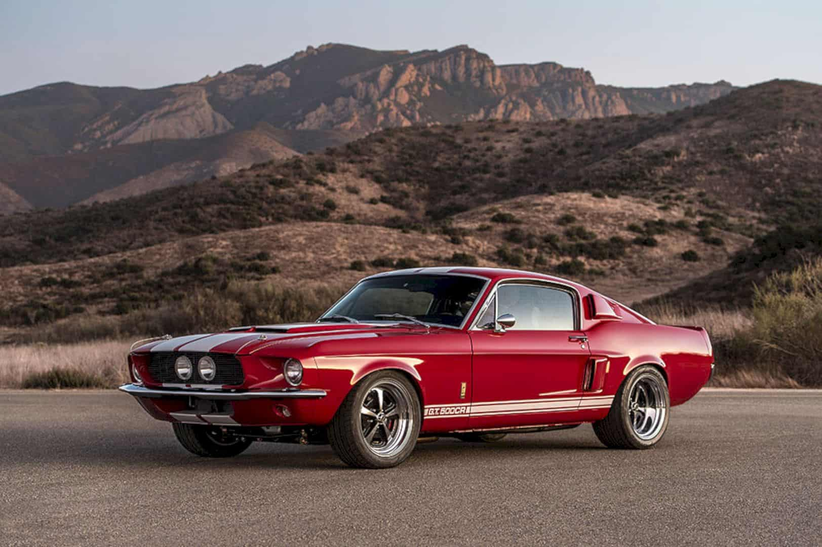 1967 Ford Mustang Shelby G.T.500CR by Classic Recreations: Action Speak Louder than Word