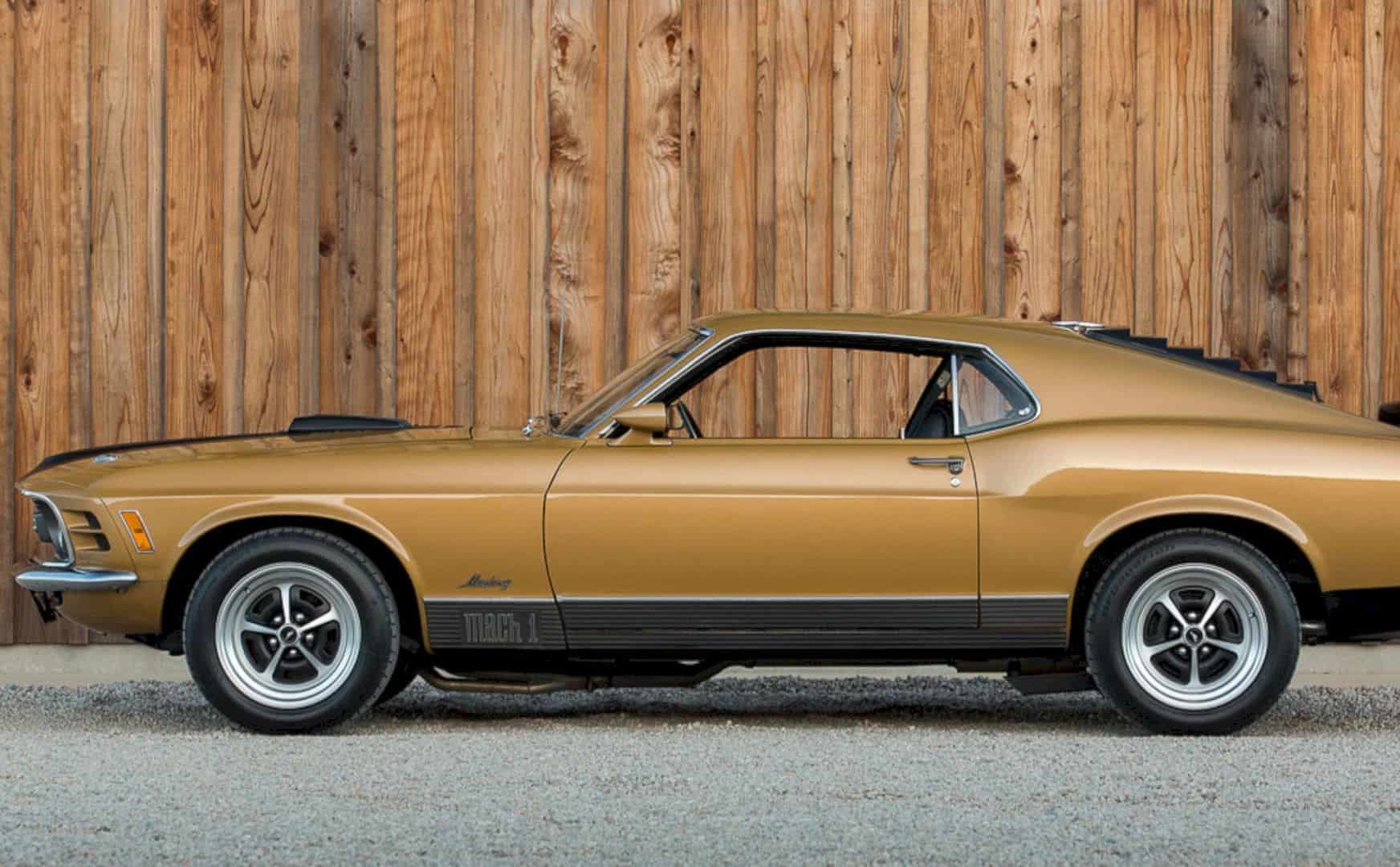 1970 Ford Mustang Mach 1 by Corvette Mike - Rebuilding on The Fame of the Muscle