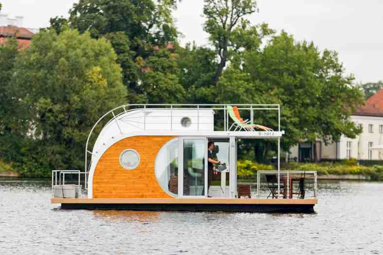 Nautilus Houseboats An Innovative Houseboats For Peace And Quiet - Houseboats vinyl numbers
