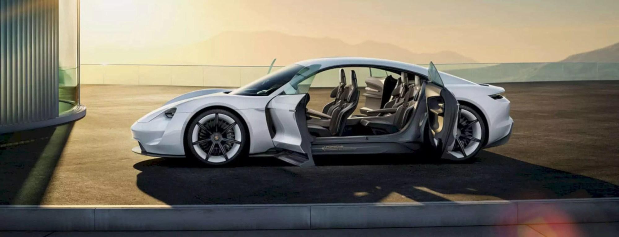 Porsche Mission E: Represent The Future