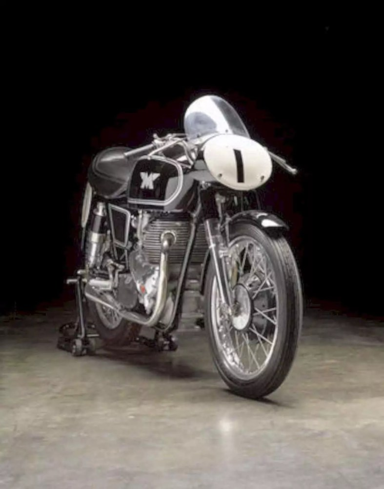 The 1955 Matchless 498cc G45 Motorcycle 3