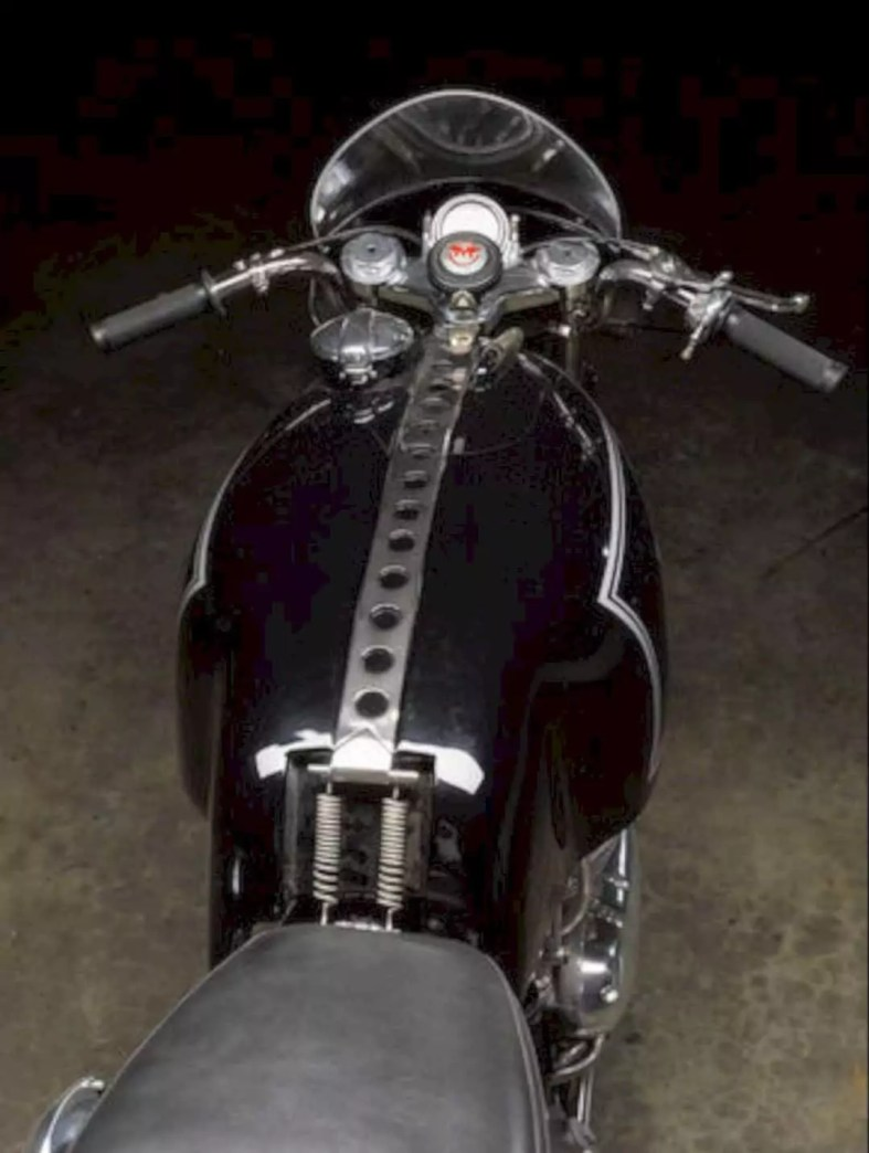 The 1955 Matchless 498cc G45 Motorcycle 8