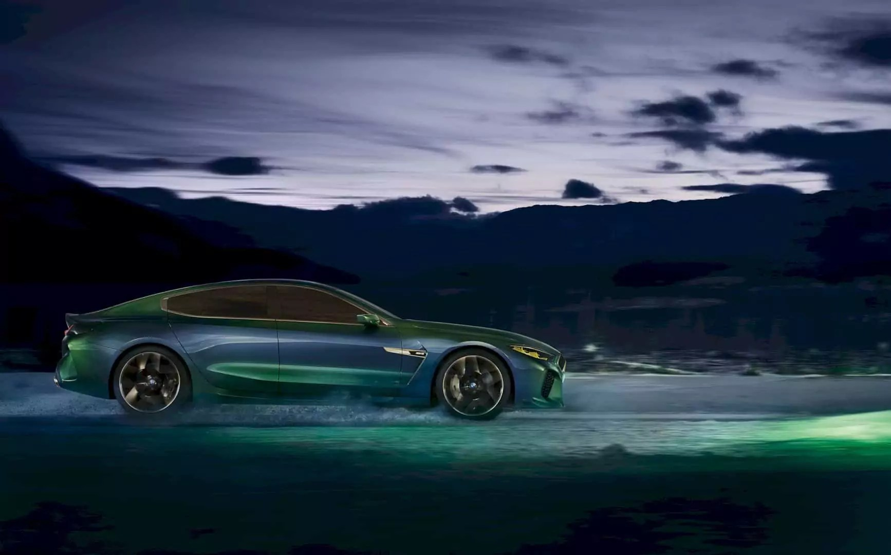 The BMW Concept M8 Gran Coupe - The Taste of Future from the Premium Brand