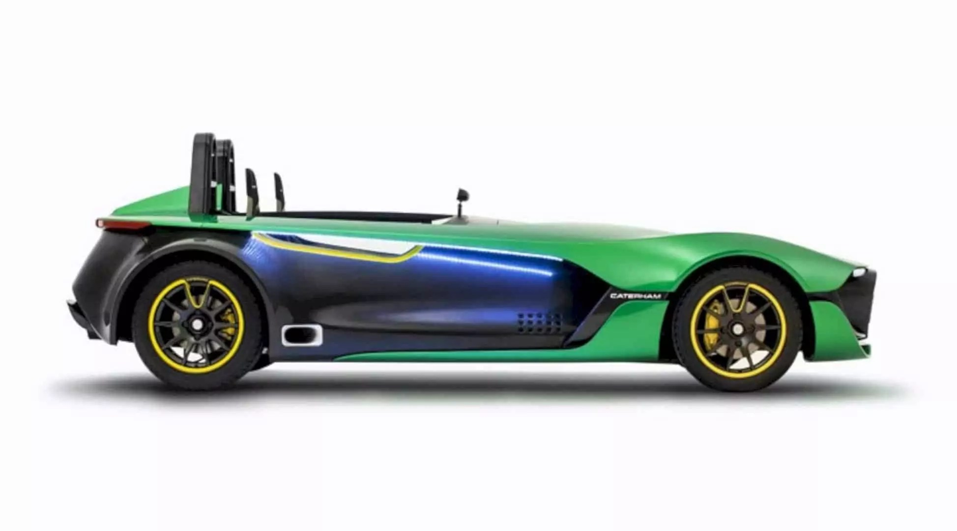 The Aero Seven Concept: The First in Line of The Next Generation of Caterham Cars