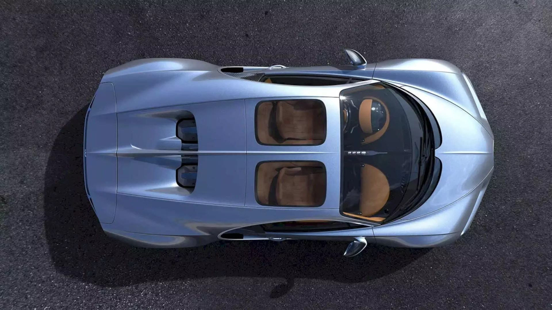 Bugatti Chiron Sky View Enhances The Cool Factor on The Super Car