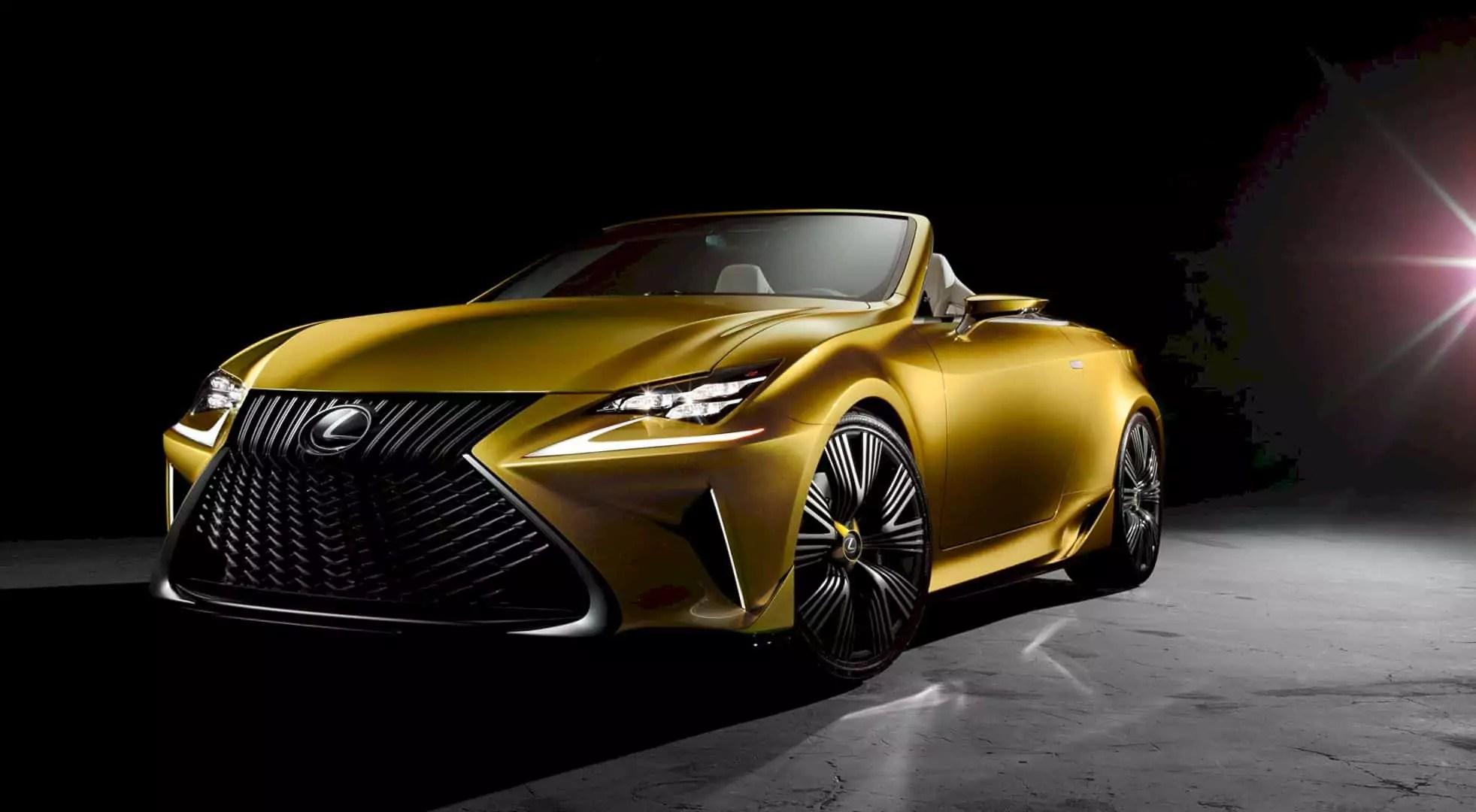 Lexus LF-C2 Concept: Captivation Through Illumination