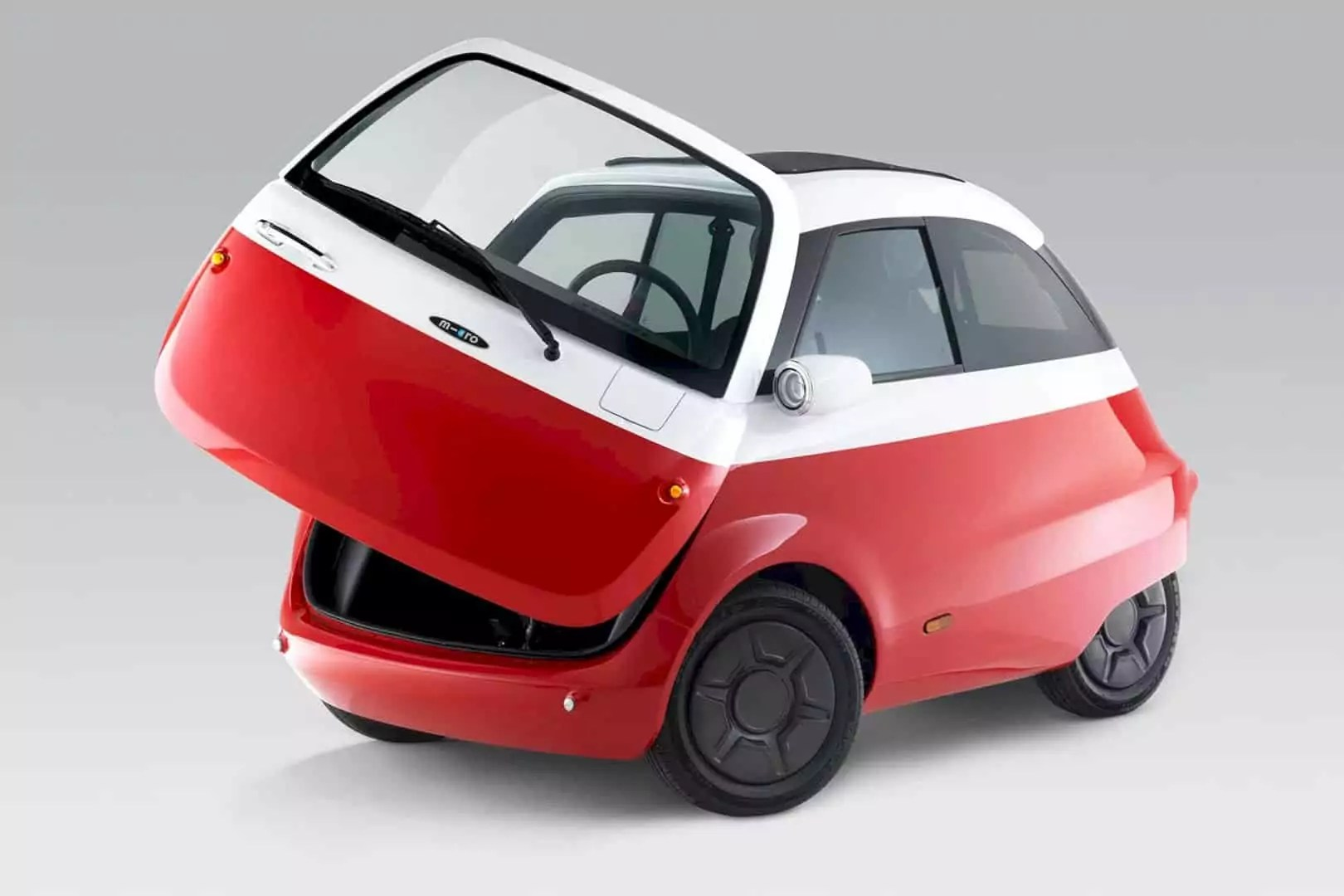 The Microlino: Small Smooth EV for The Earth Lover