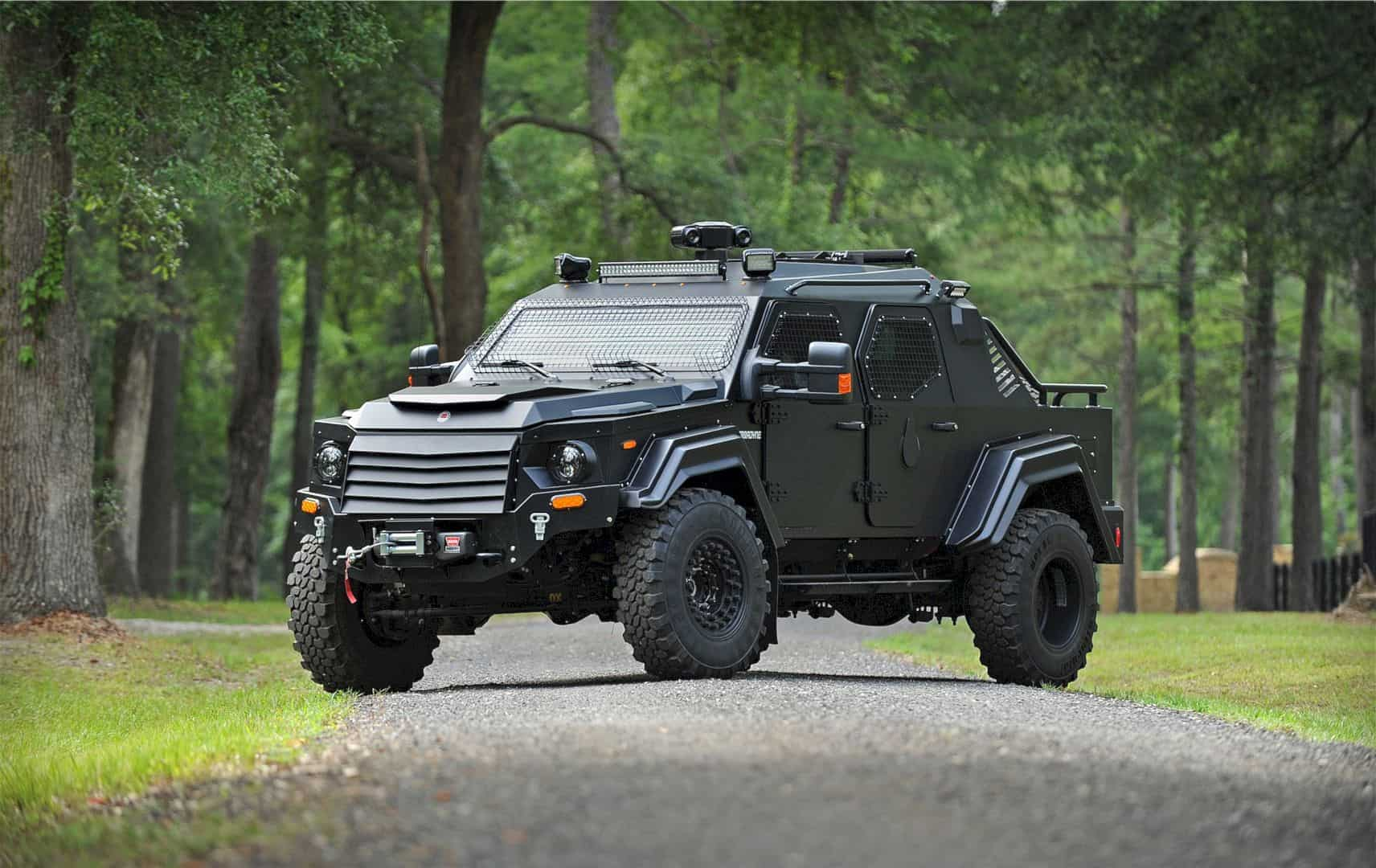 Gurkha CIV from Terradyne: The Mightiest SUV on The Market