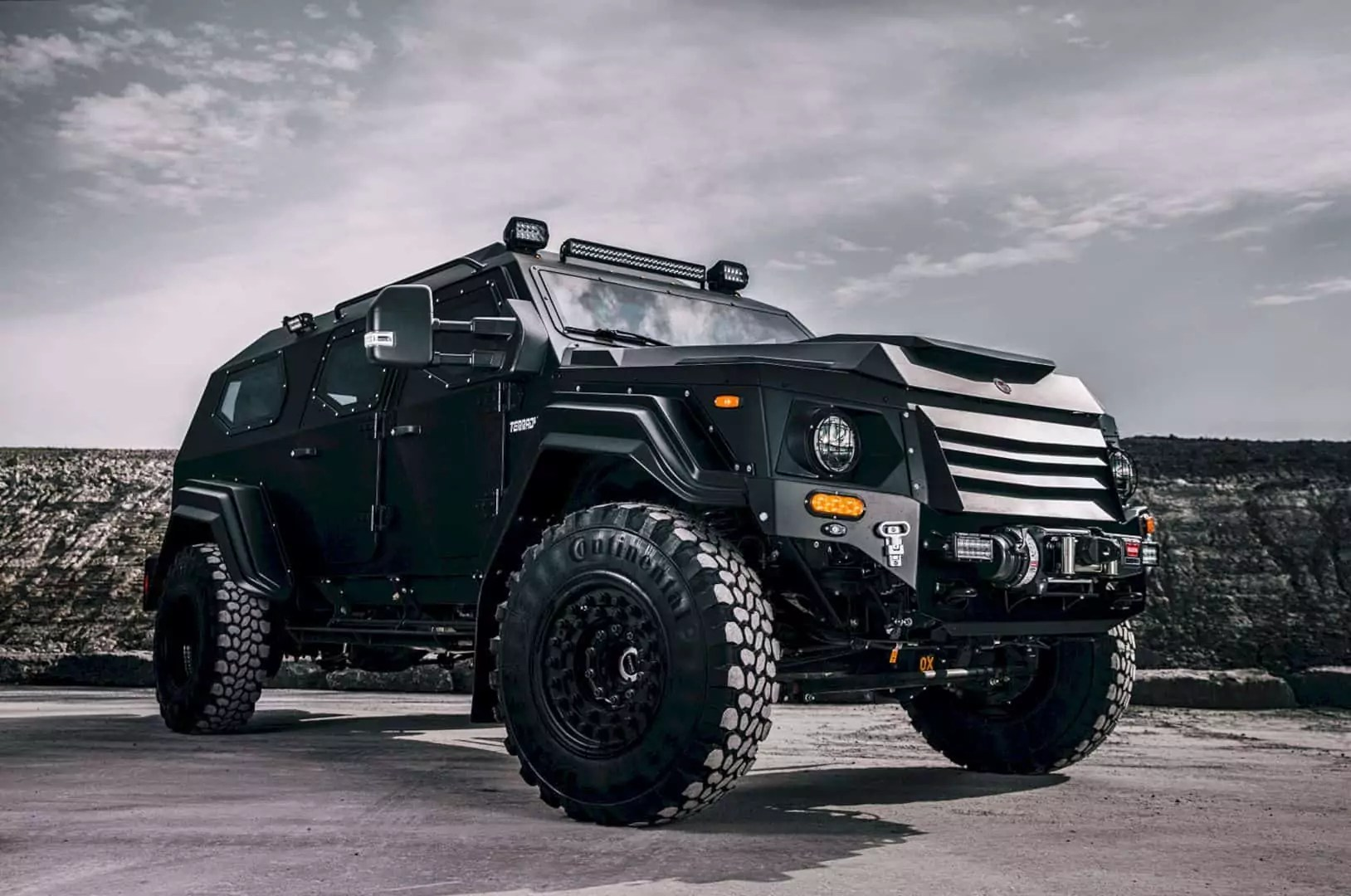 Gurkha LAPV From Terradyne Built Another Perspective of Light Armored Patrol Vehicle