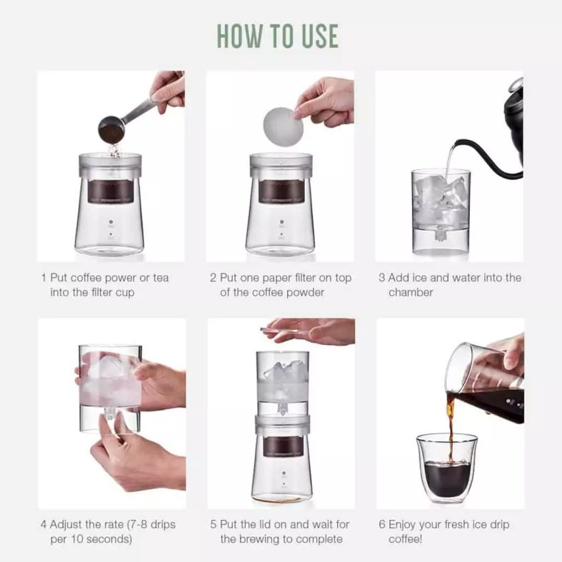Soulhand Cold Brew Coffee Maker 5
