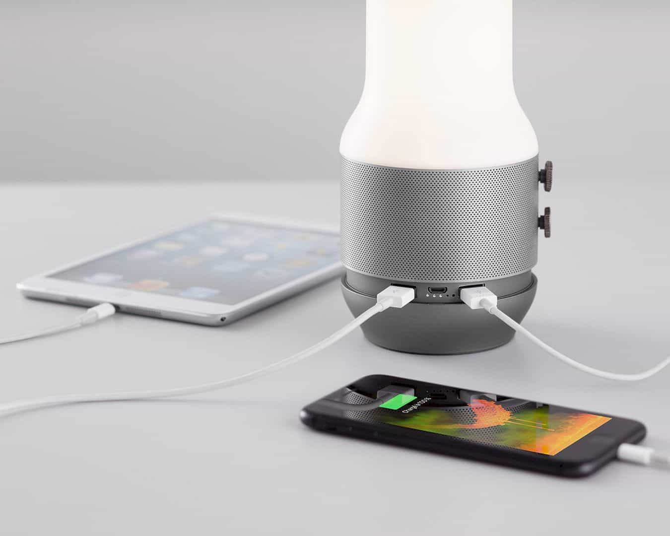 LEXON Terrace 3-in-1 Bluetooth Speaker: one stylishly attractive gadget