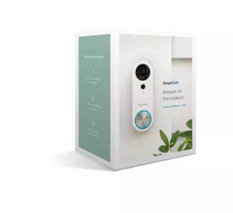 Simplisafe Video Doorbell Pro 4