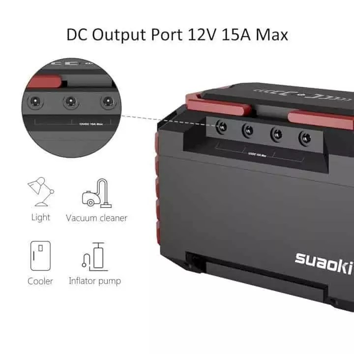 Suaoki S270 Portable Power Station 2