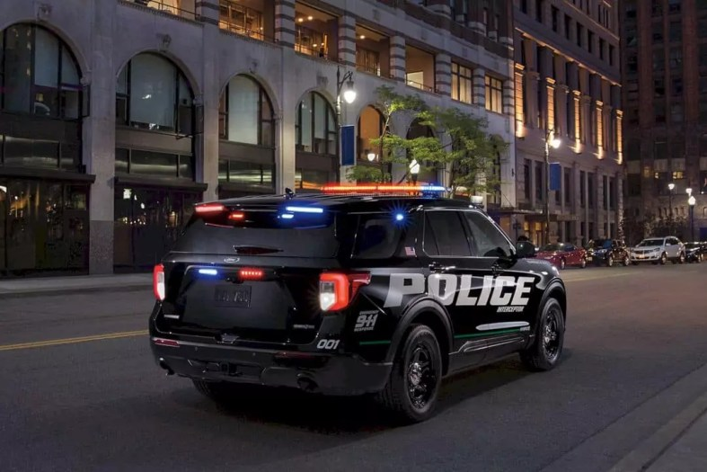 The All New 2020 Ford Police Interceptor Utility 10