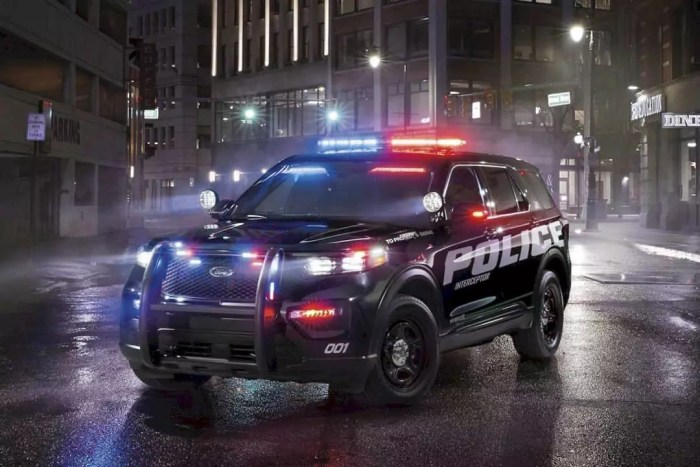 ford police interceptor utility    pursuit rated hybrid police