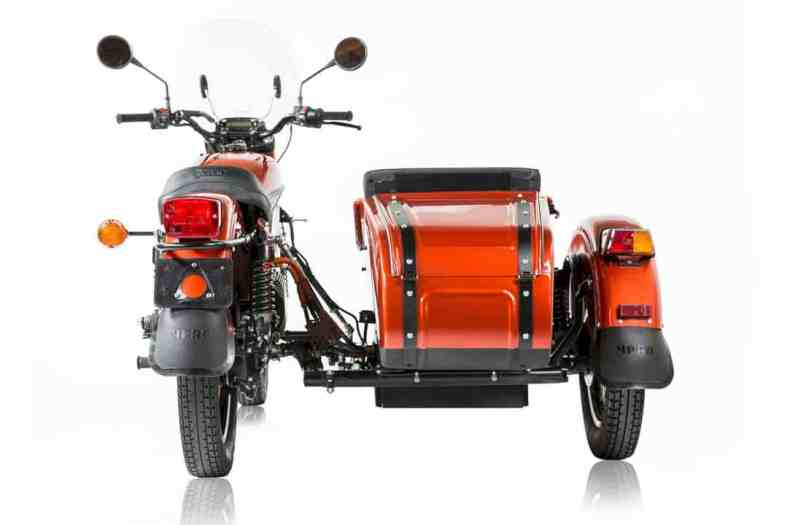 The Ural All Electric Prototype 10
