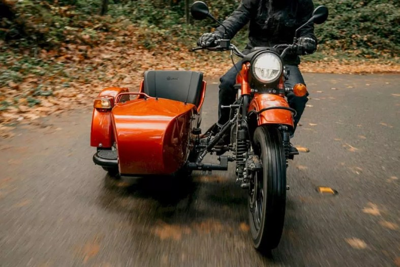 The Ural All Electric Prototype 3