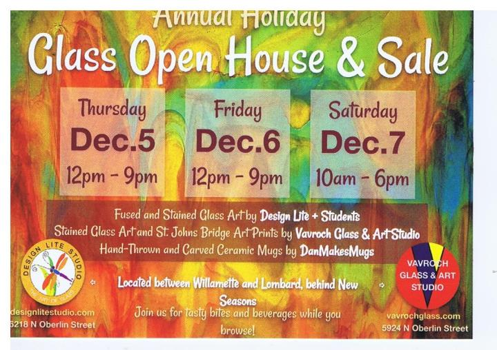 2019 Glass Open House & Sale