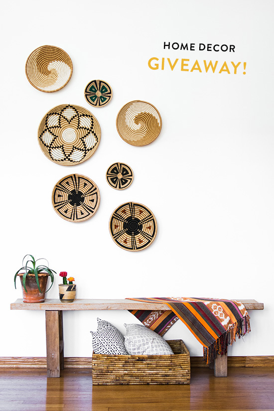 Home Decor Giveaway Graphic Journey