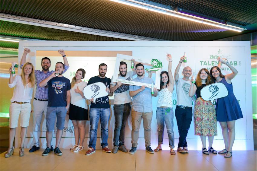 8 τελικοί φιναλίστ του του Heineken Talent Lab με την ομάδα Marketing της Heineken