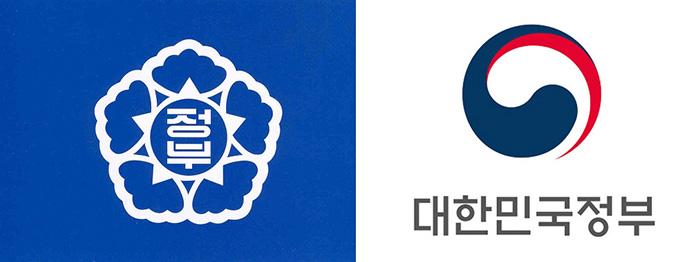 Αριστερά ο παλαιός λογότυπος - δεξιά ο νέος