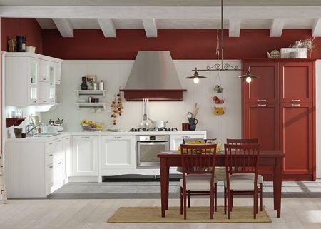Veneta Cucine Gretha libert cromatica in cucina