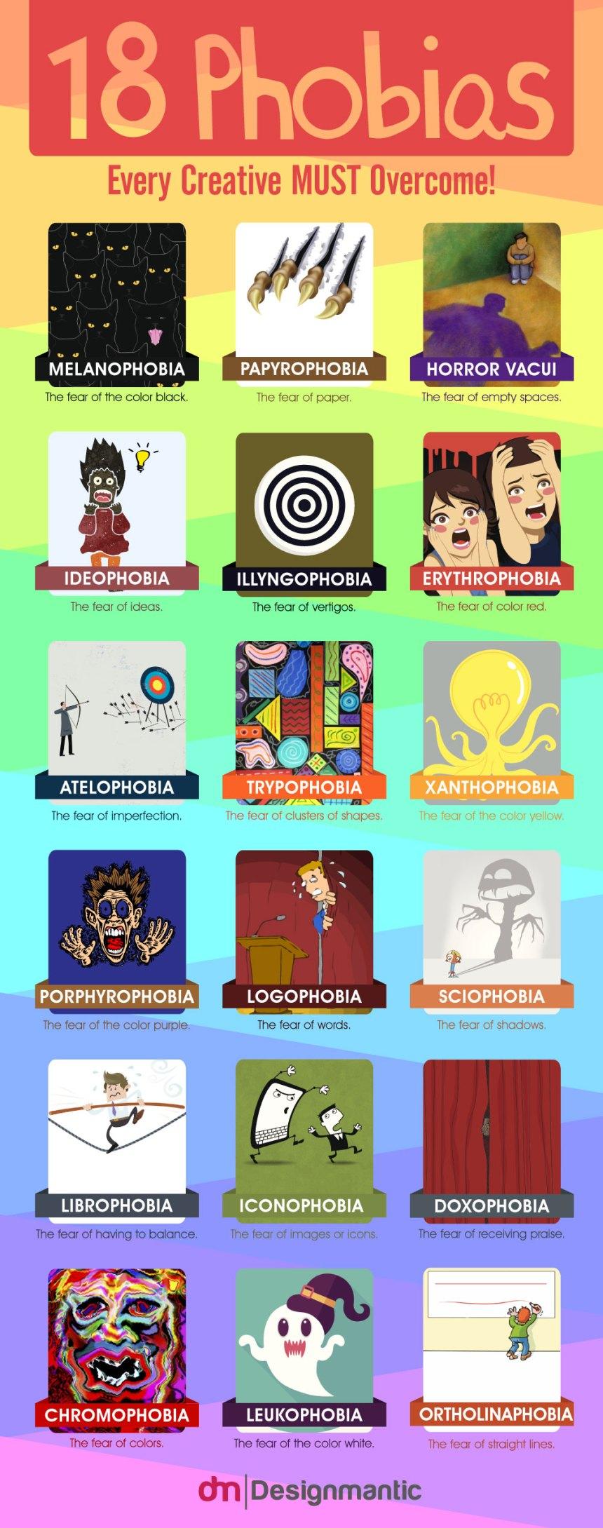 18 Phobias Every Creative MUST Overcome!