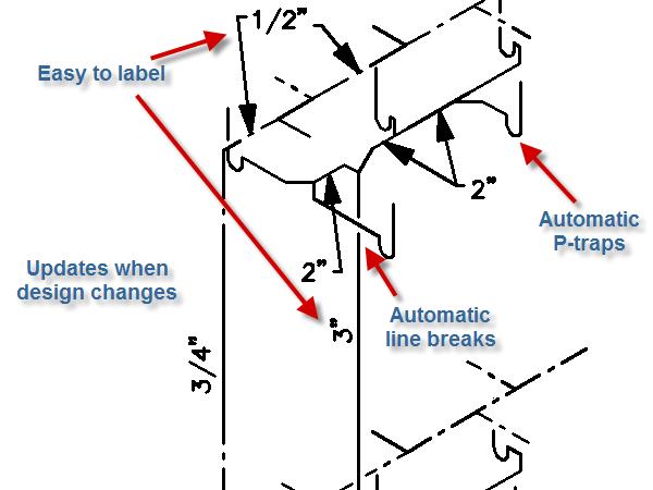 plumbing sanitary riser diagram reversing single phase ac motor wiring isometric diagrams - design master software