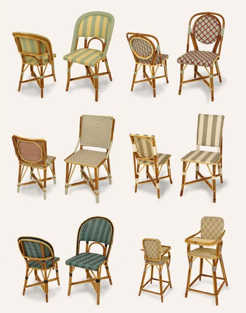 parisian cafe chairs coleman steel deck chair drucker design mom wicker paris