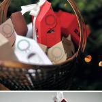 Imprimibles gratis: plantilla de cajita-casita para regalar