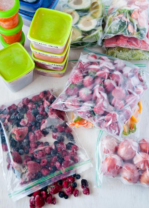 Как заморозить продукты