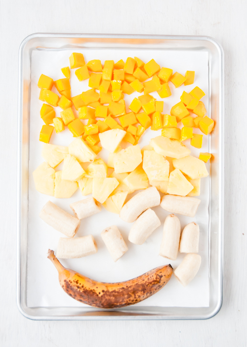 Как заморозить фрукты