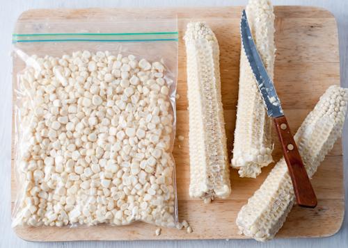 Как заморозить кукурузу