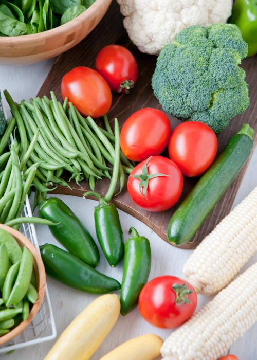 Замороженные овощи, фрукты и ягоды