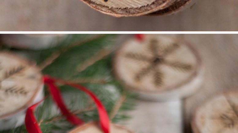 Geëtste sneeuwvlokornamenten | Verbluffende zelfgemaakte kerstversieringen die je kunt maken met een beperkt budget | zelfgemaakt Kerstmis decoraties