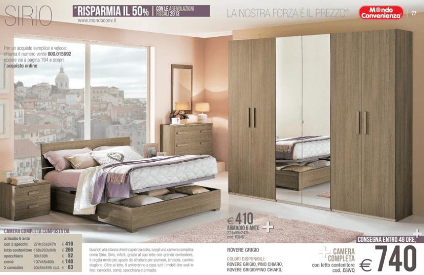 sirio camere da letto mondo convenienza 2014 3  Design