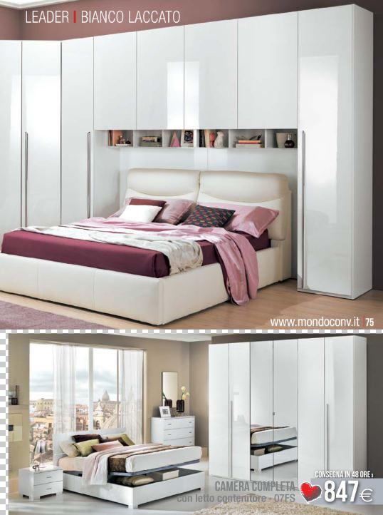 Camera da letto Leader mondo convenienza 2015  Design Mon