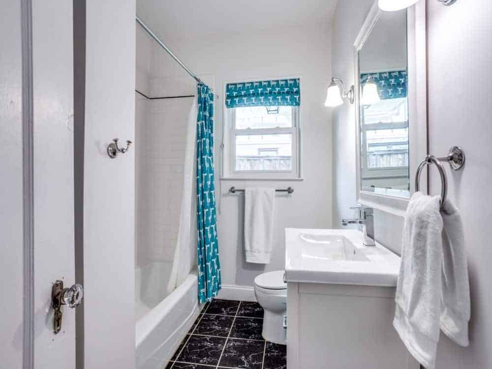 Bathroom redone