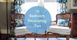 10 bedroom decorating tips