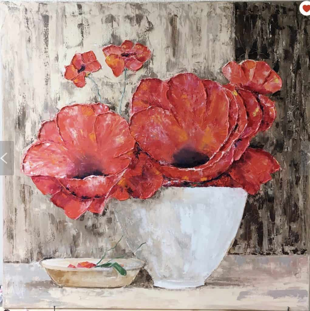poppy art on Etsy
