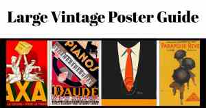 Guide to buying vintage posters