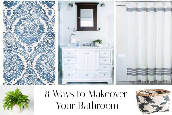 8 Ways to Makeover Your Bathroom on A Small Budget