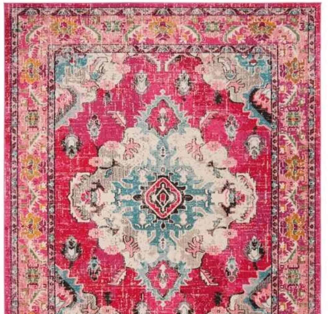 Safavieh boho rug for living room
