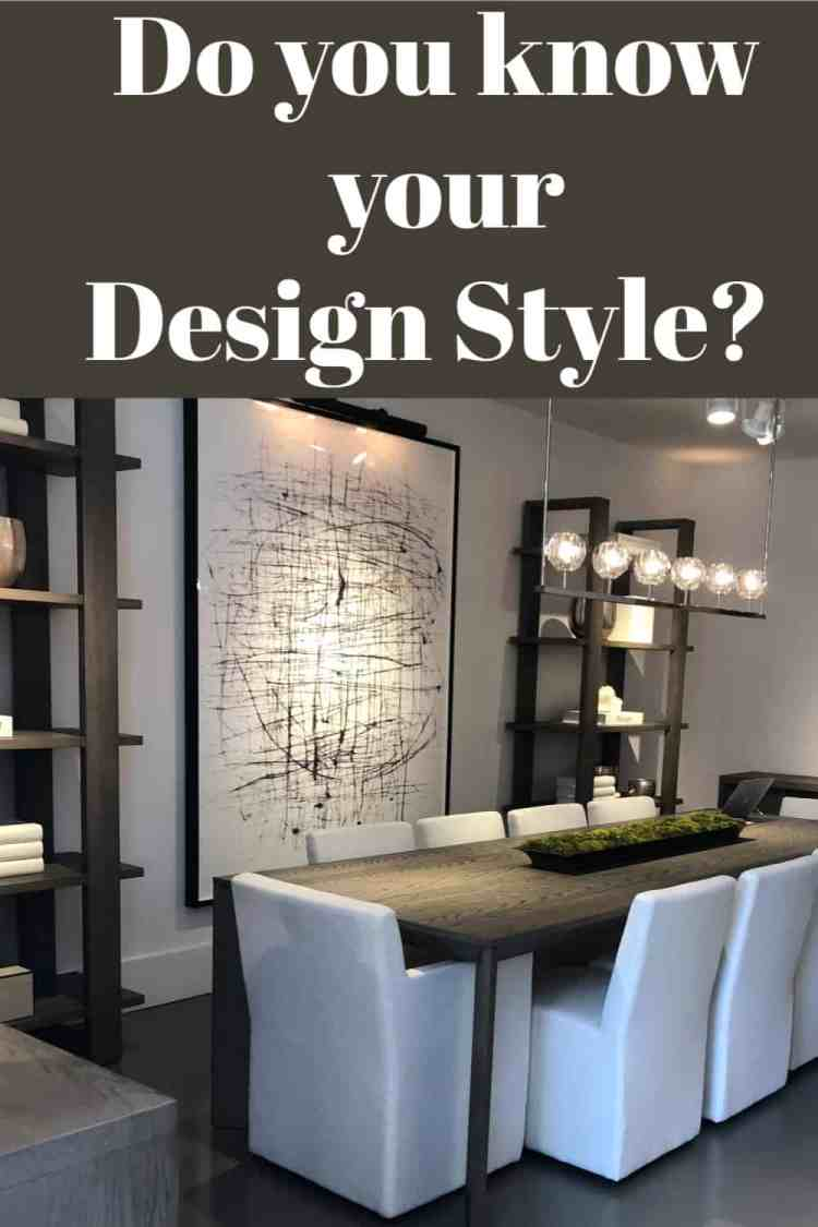 Do you know what design style you like best?  Is it modern, farmhouse, traditional, boho, coastal or a combination?