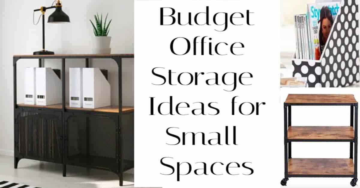 budget office storage ideas
