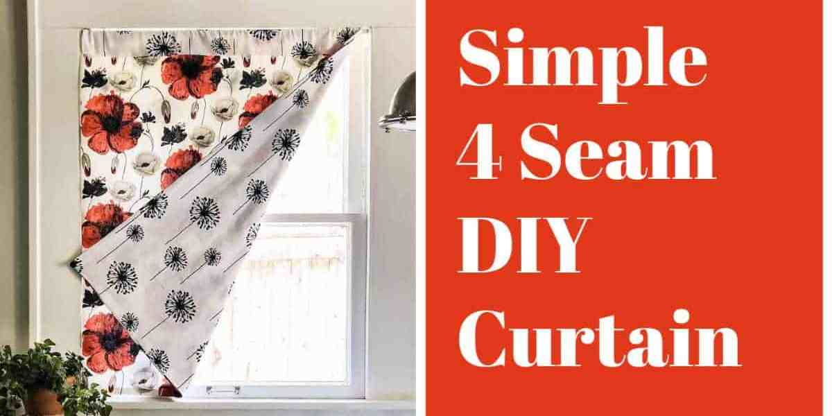 Simple DIY Drape – Only 4 Seams