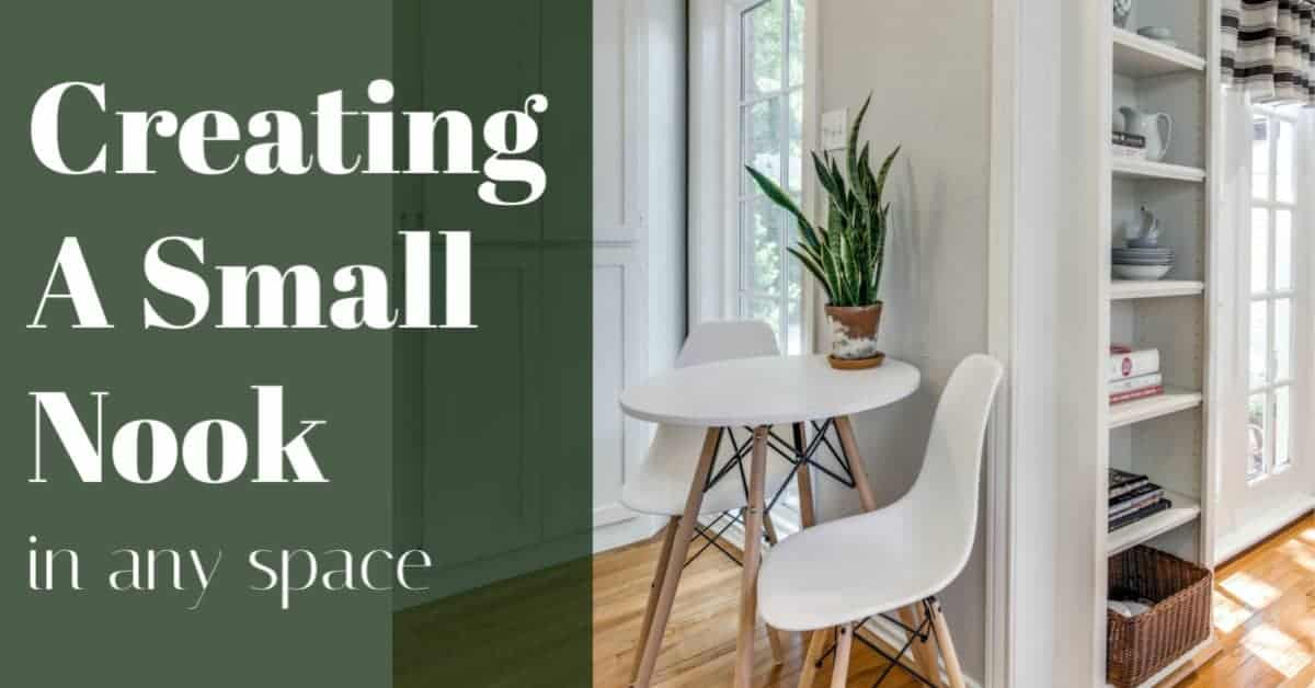 Creating a nook on a budget