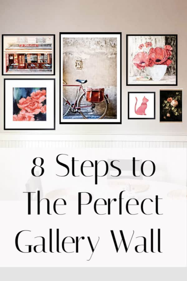 8 steps to the perfect gallery wall