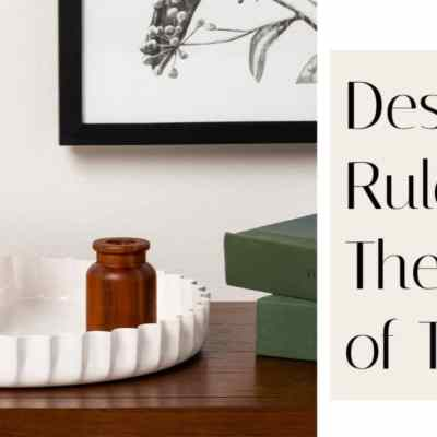 Decorating Rule of Thumb – Rule of Threes