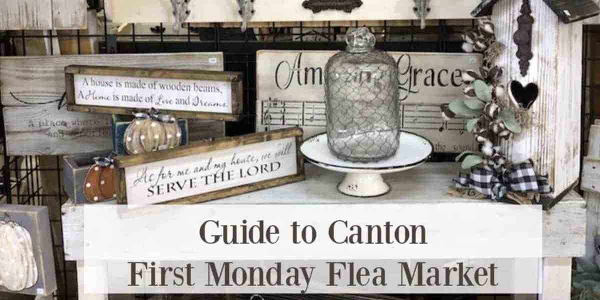 Canton First Monday Flea Market